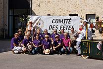 Equipe du Comité de Fêtes de Marolles-en-Hurepoix