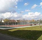 Terrains de tennis (1 couvert et 3 extérieurs)