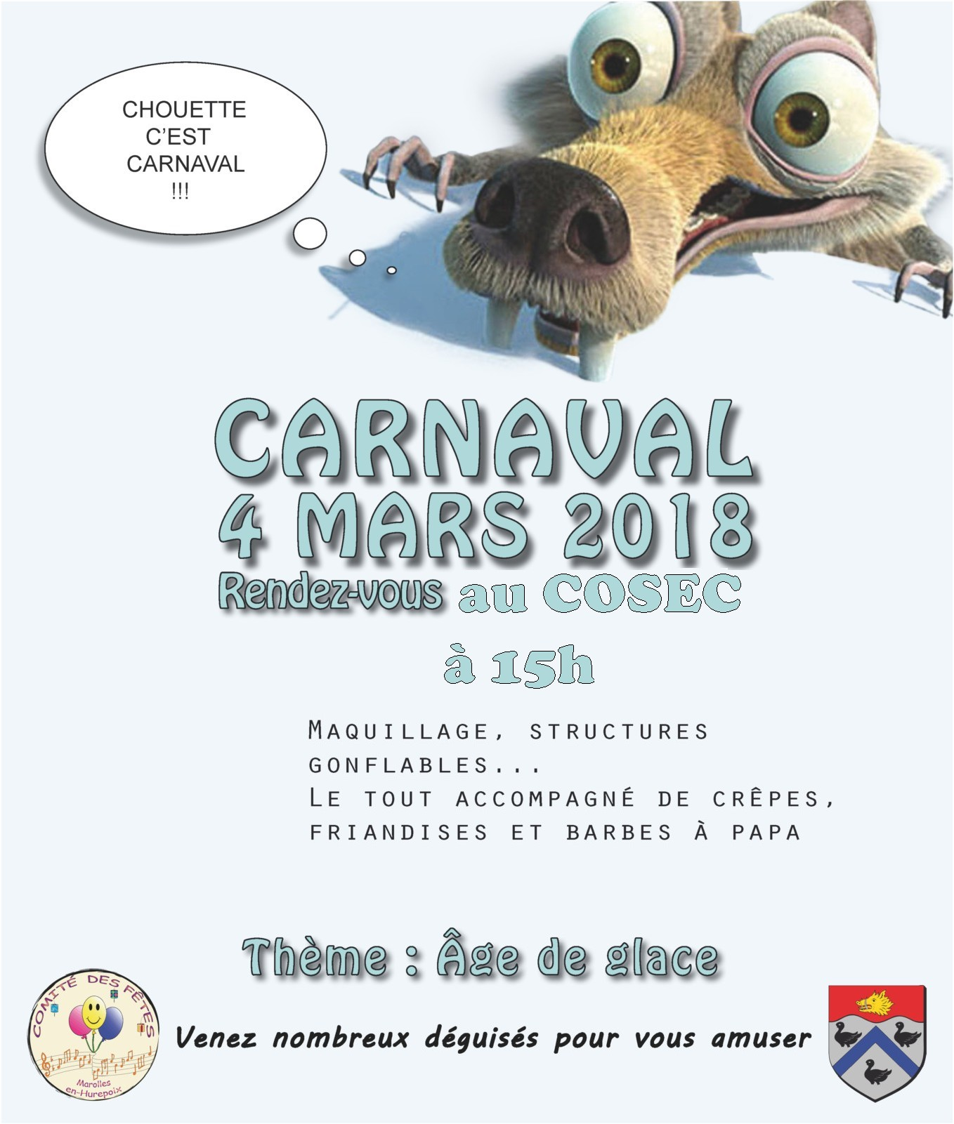 carnaval 2018 site officiel de la mairie de marolles en hurepoix. Black Bedroom Furniture Sets. Home Design Ideas