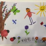 Félicitations à Théa pour son dessin !