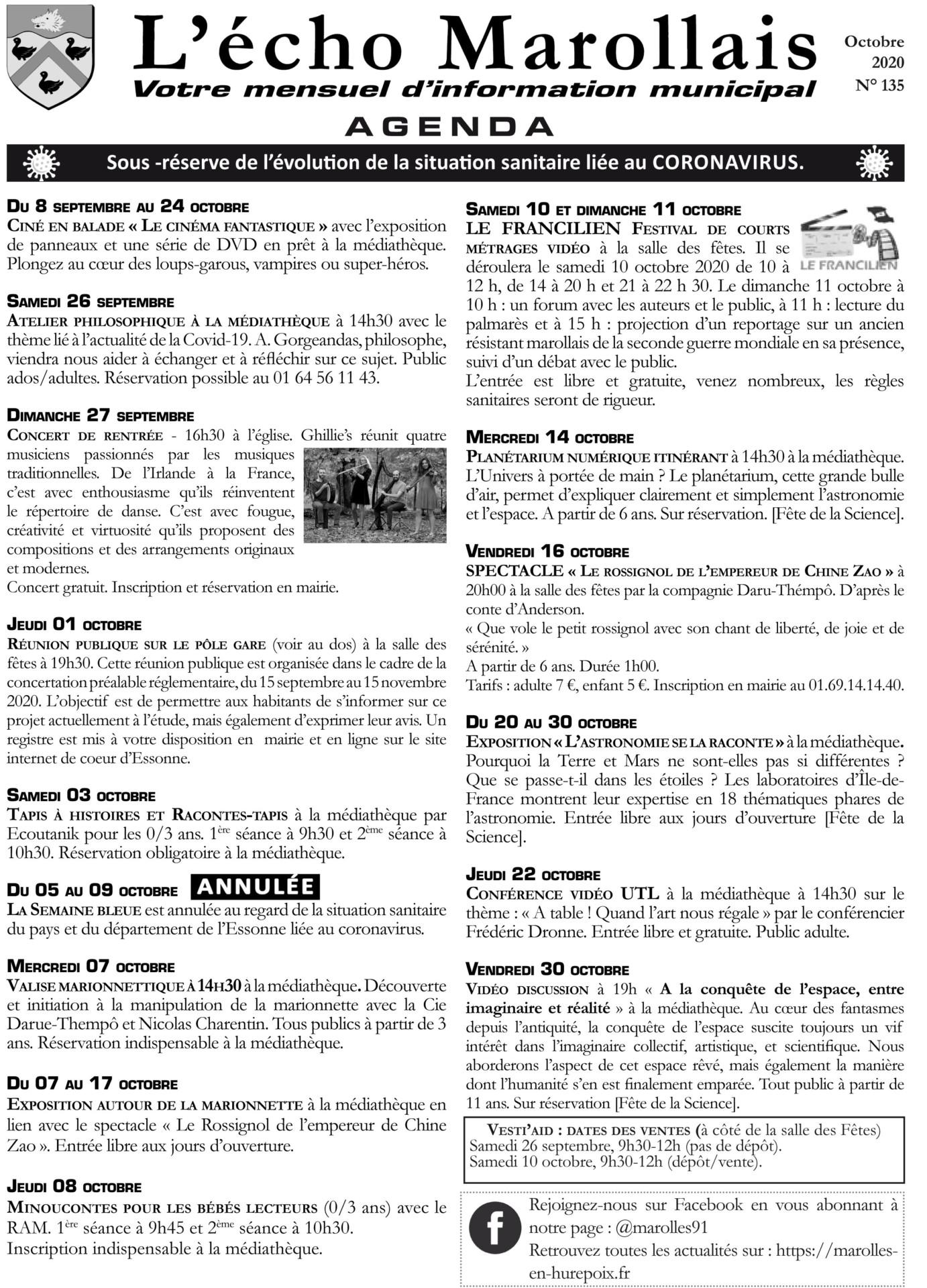 Écho Marollais N°135