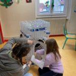 Préparation de l'exp'eau au centre de loisirs