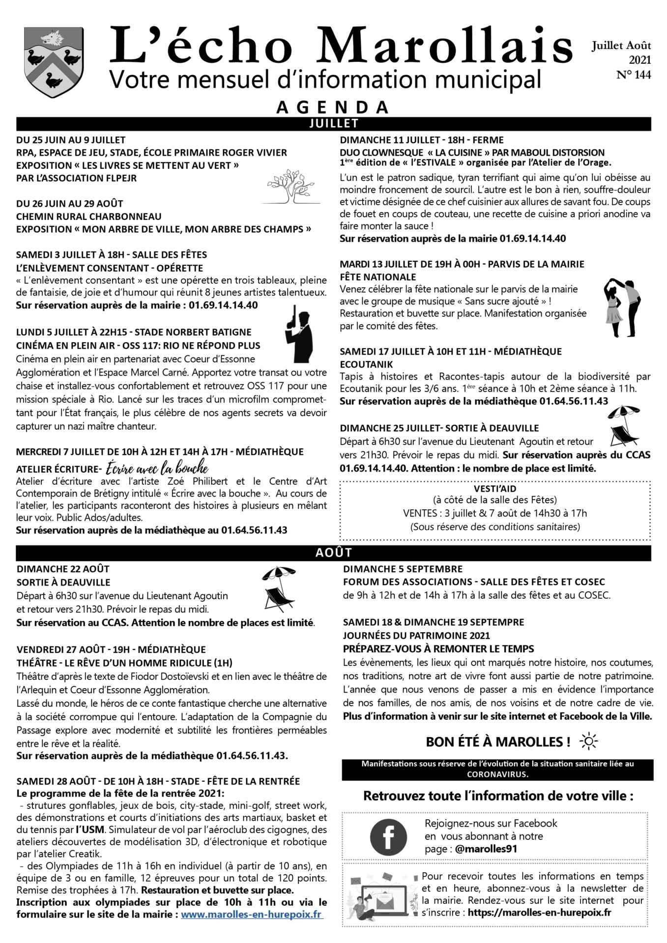 Echo Marollais n°144